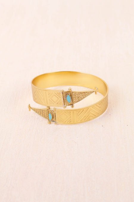 Arrowhead Gypsy Cuff by Sunahara - FINAL SALE