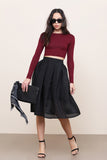 Twist And Shout Midi Skirt - FINAL SALE