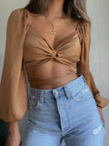 Love Line Crop Top