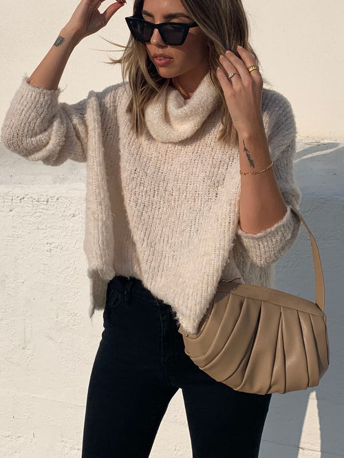 Alpine Crop Sweater