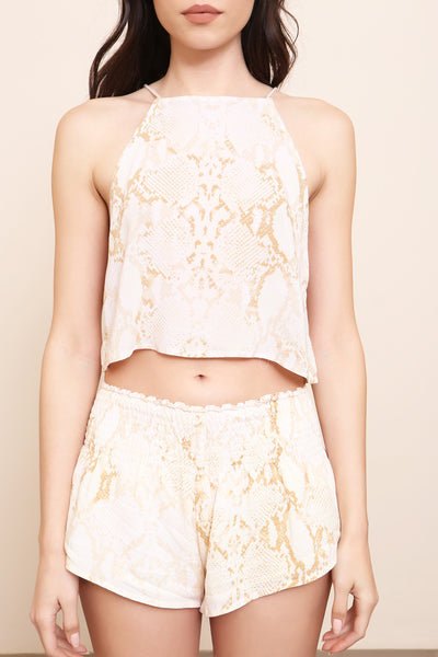Sun Goddess Crop Top - FINAL SALE