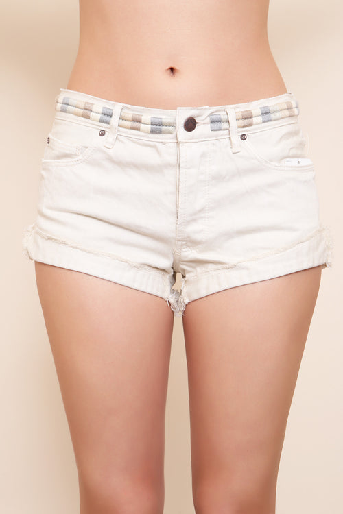 Elliot Embroidered Short by Free People - FINAL SALE