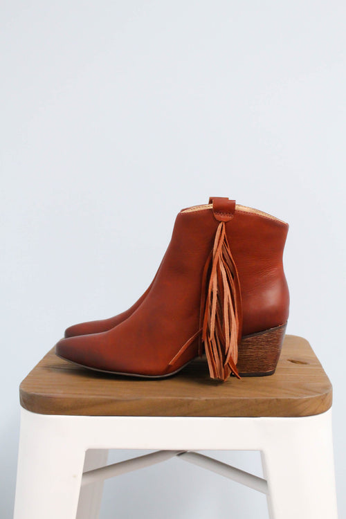 Shields Fringe Bootie by Matisse Footwear - FINAL SALE