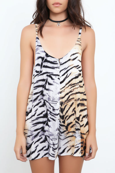 Molopo Animal Playsuit by Somedays Lovin- FINAL SALE