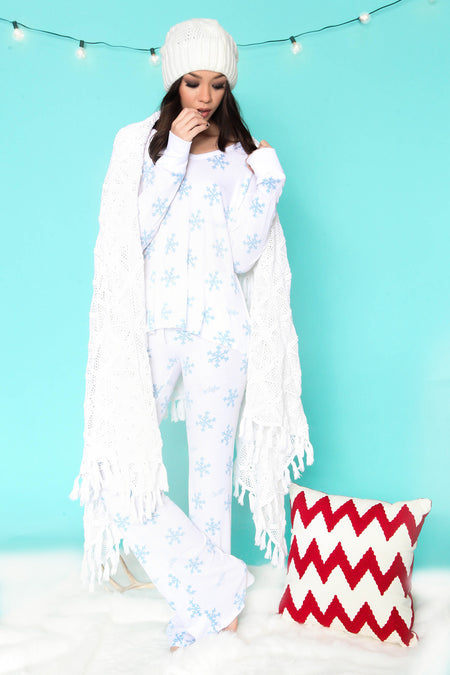 Glowing Lights Cabin Fever Pajama Set by WILDFOX - FINAL SALE