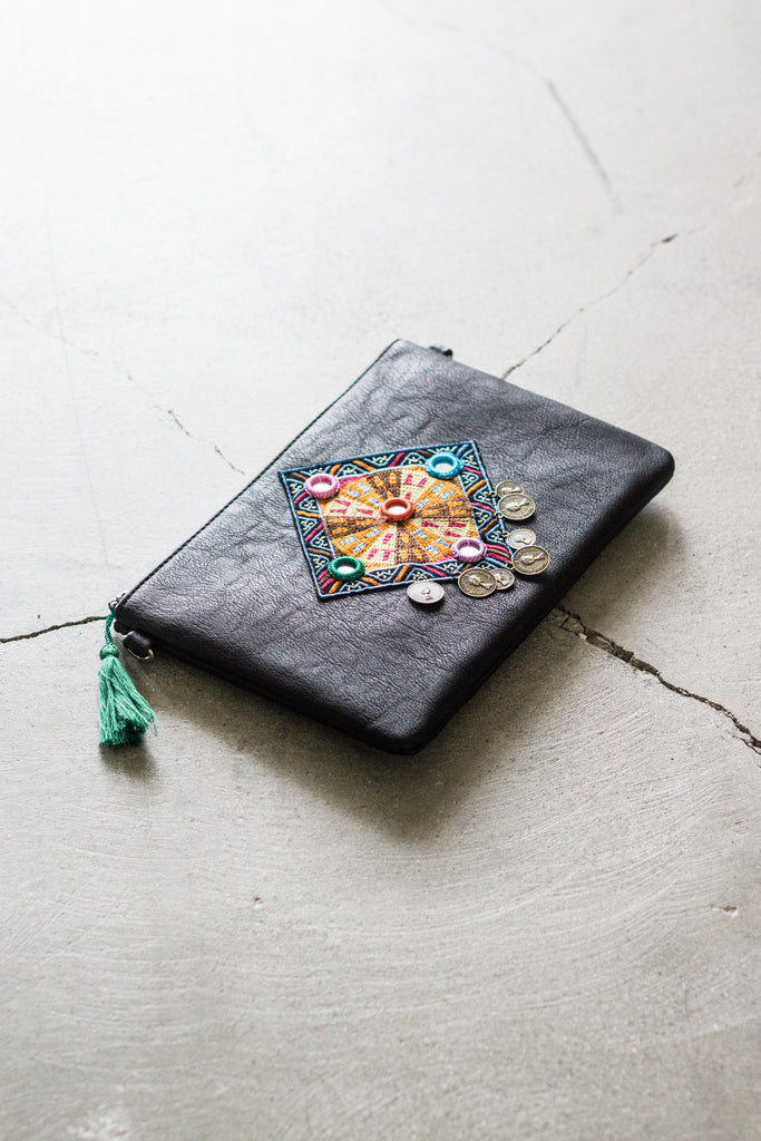 In Stitches Clutch