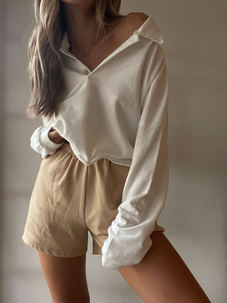 Laid Back Crop Sweater