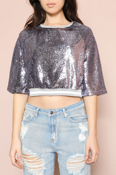 Countdown Crop Top - FINAL SALE