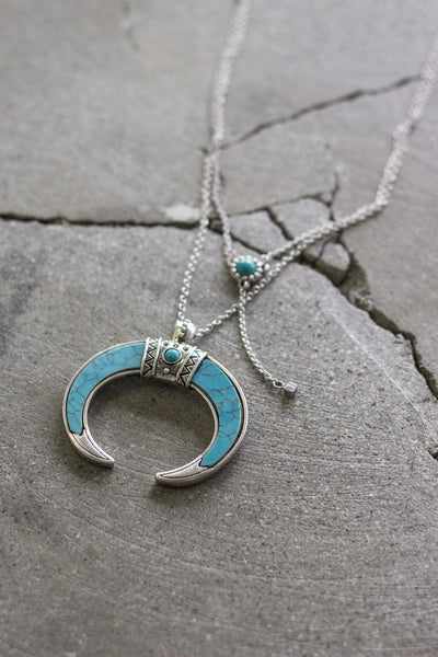 First Moon Necklace