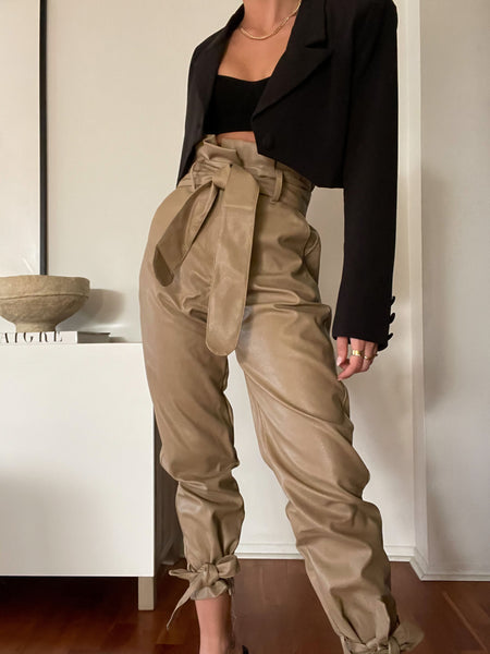 My Type Leather Pant