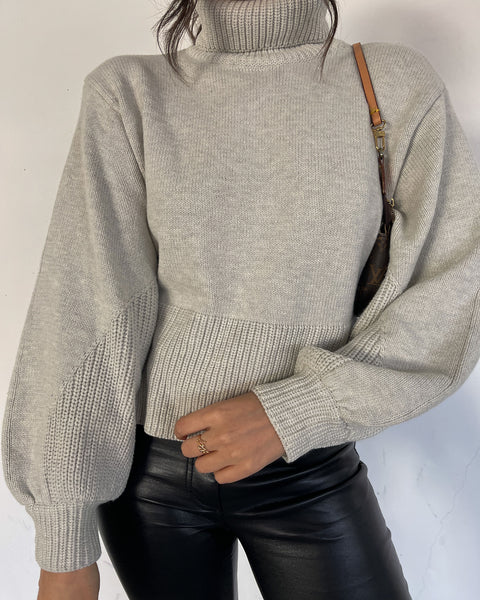 High Rise Sweater