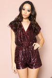 Last Dance Sequin Romper - FINAL SALE
