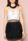 Lights Sequin Crop Top - FINAL SALE