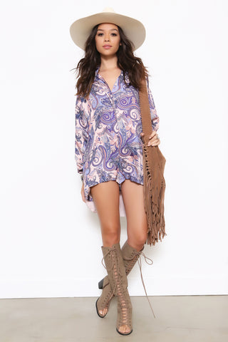 Fortune Teller Romper by The Jetset Diaries - FINAL SALE