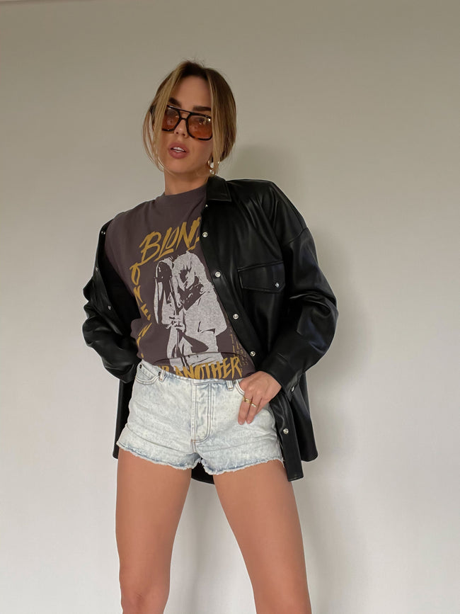 Blondie One Way Or Another Weekend Tee by Daydreamer