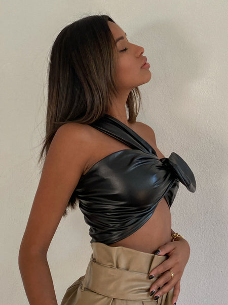 Light My Fire Leather Bandeau