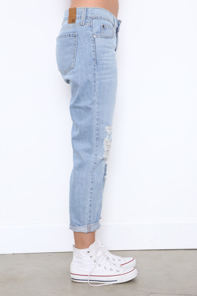 Reckless Boyfriend Jean - FINAL SALE