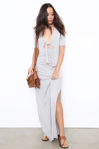 Tie Me Up Maxi Dress by Blue Life - FINAL SALE