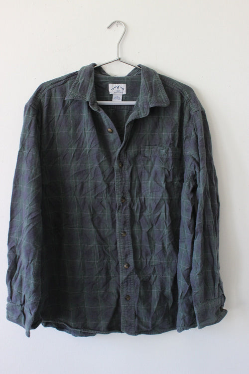 Blue Mountain Flannel Shirt by Luna B Vintage