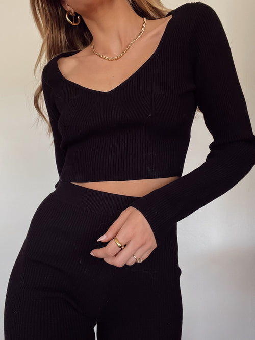 Good Fortune Crop Sweater