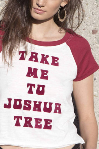 Take Me To Joshua Tree Tee by Minkpink - FINAL SALE