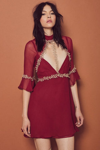 Lille Mini Dress by For Love & Lemons- FINAL SALE