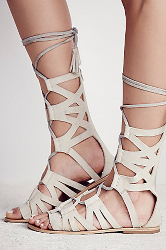 Mesa Verde Gladiator Sandals by Free People - FINAL SALE