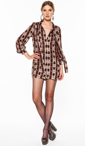 Poppy Shirt Dress by Novella Royale- FINAL SALE