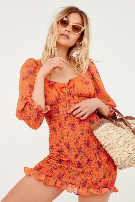 Peony Mini Dress by For Love + Lemons - FINAL SALE