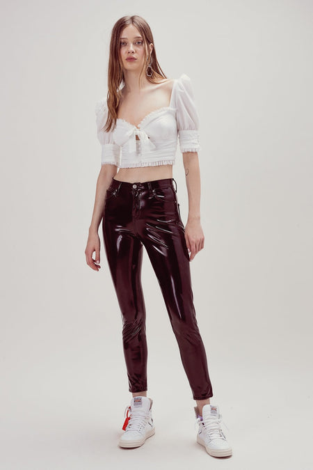 Christy Lace Up Top by For Love & Lemons