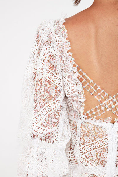 Sequoia Lace Mini Dress by For Love & Lemons