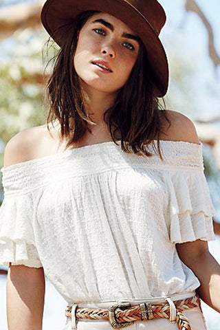 Santorini Top by Free People - FINAL SALE