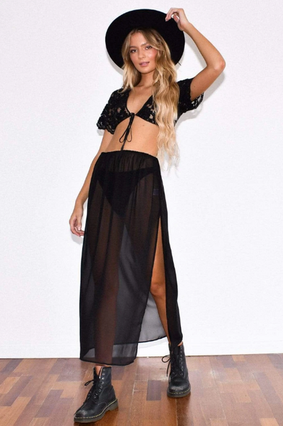 Rue Maxi Skirt by Her Pony The Label - FINAL SALE