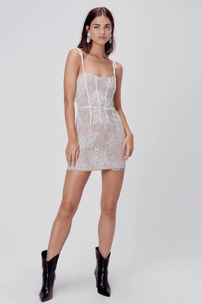 Cheyenne Lace Mini Dress by For Love & Lemons - FINAL SALE
