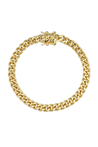 Celine Curb Link Bracelet, Smooth by Lili Claspe