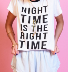 The Right Time Tee by Minkpink - FINAL SALE