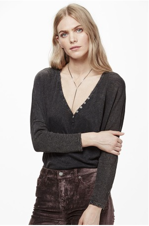 Santa Cruz Henley by Free People - FINAL SALE