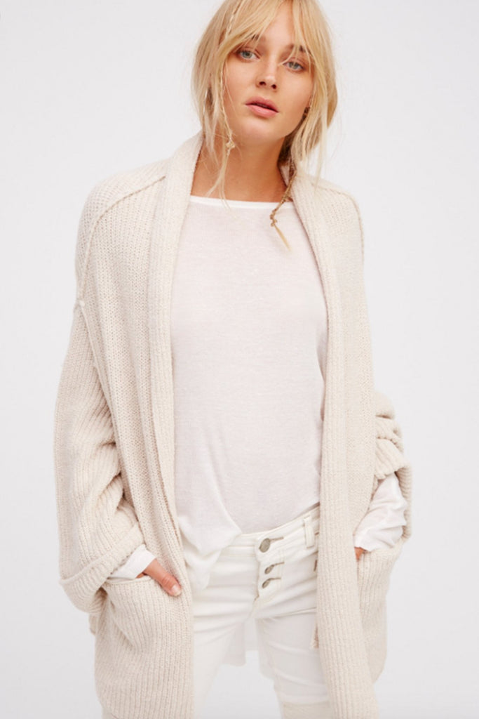 Low Tide Cardi by Free People - FINAL SALE