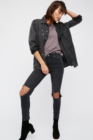 Busted Skinny Jean by Free People
