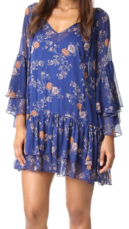 Sunsetter Printed Dress by Free People - FINAL SALE