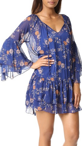 Sunsetter Printed Dress by Free People