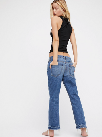Cropped Boot Jeans by Free People