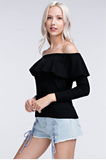 Salsa Nights Top - FINAL SALE