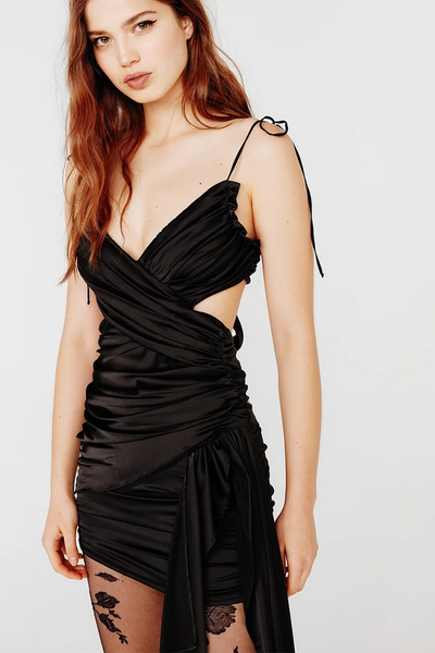 Madonna Faux Wrap Mini Dress by For Love & Lemons
