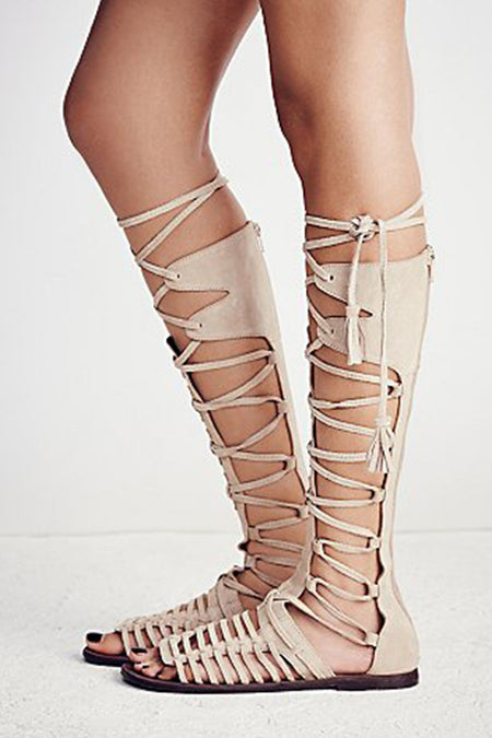 Expo Lace-Up Sandal by Matisse - FINAL SALE