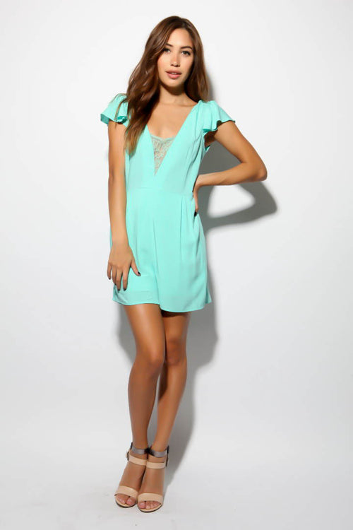 Sweet Pea Romper - FINAL SALE