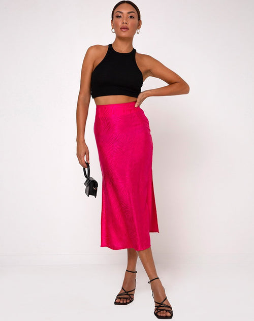 Tindra Midi Skirt by Motel