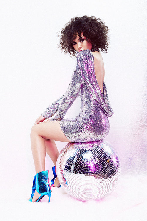 Night Fever Sequin Dress - FINAL SALE