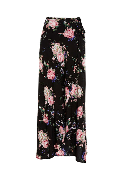 Wild Rose Maxi Wrap Skirt by Auguste The Label - FINAL SALE