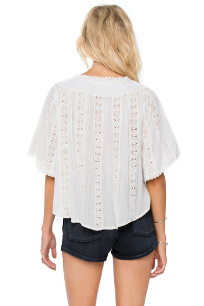Bryden Woven Top by Amuse Society - FINAL SALE